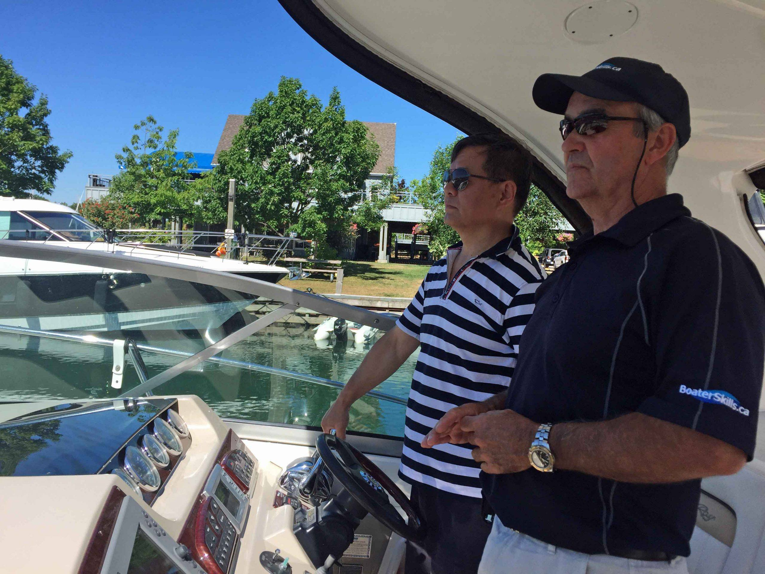 Boat Handling Clinics For Power and Sail | BoaterSkills.ca