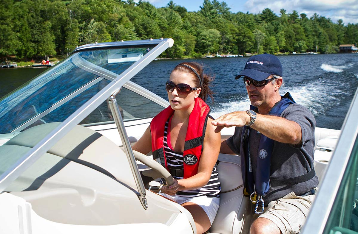 Boat Handling Clinics For Power & Sail | BoaterSkills.ca