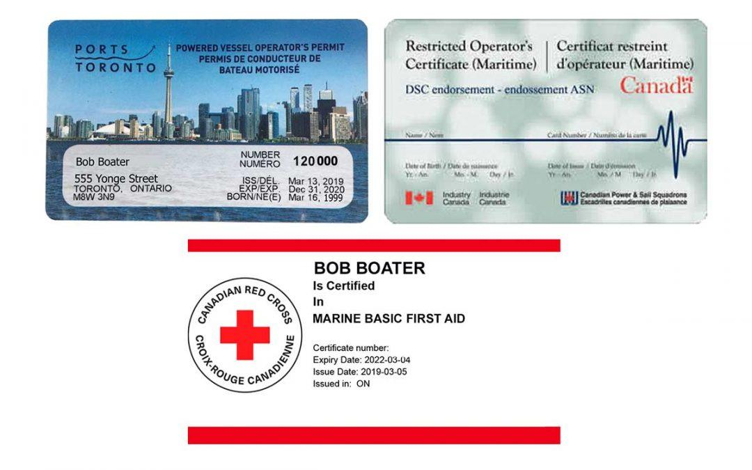 GET READY FOR SPRING WITH A BOATING CERTIFICATION COURSE