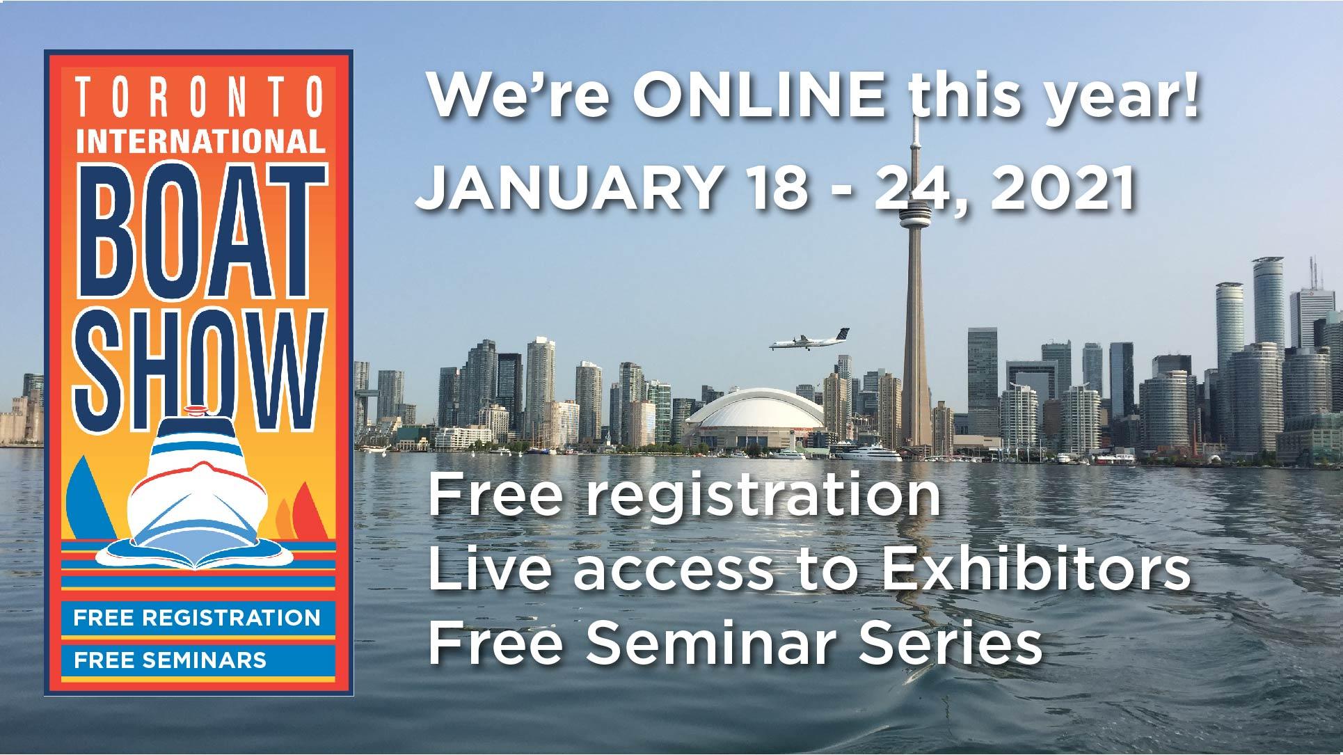 Virtual Toronto International Boat Show
